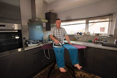 Ironing Me (Glesgaloon) Tags: silly photoshop fun daft confusion ironing selfie