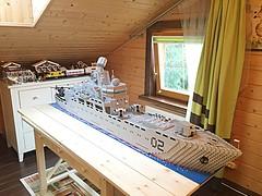 Lego Nuclear missle cruiser MOC (i_igoshev) Tags: ship lego navy destroyer battleship cruiser missle warship moc         frigat