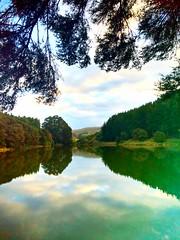 Lake Orakai, Hawkes Bay (mihingare) Tags: lake reflection nz hawkesbay tutira orakai guthriesmith