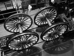 Wheels (Megashorts) Tags: york uk england museum driving yorkshire wheels engine railway olympus steam workshop pro locomotive f28 nationalrailwaymuseum omd em10 mzd 1240mm