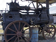Marshall, Sons and Co steam traction engine (outback traveller) Tags: historic seq