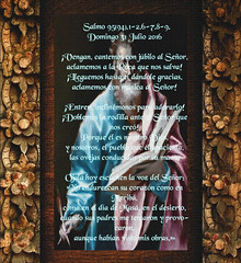 Salmo 95(94),1-2.6-7.8-9..(Dedicado  al P.Cotallo) (Cotallo-nonocot) Tags: padre cotallo jose luis sacerdote misionero fundador arte profesor digital biblia evangelio evangelios lectura lecturas evangelicas libro hechos apostol apostoles facts apostle bible gospel gospels reading carta cartas letter semana hoy people peoples father work priest missionary poverty vote diocese parish parishes teacher plasencia caceres merida badajoz extremadura escritura escrituras writing nuevotestamento newtestament coleccion collection dedicatoria roma vaticano ciudaddelvaticano vatican nonocot evangelium papafrancisco hdr photoshop galera fotogrfica salmo salmos santosdeldas santosdelda