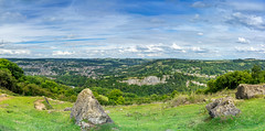 Hights of Abraham, UK (perminder_klair) Tags: landscape uk heights abraham mountains clouds green trees