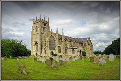 Cathedral of the Marshes...... (Jason 87030) Tags: church cathedral norfolk holy old building architecture century sky clouds grave yard uk england greatbritain unitedkingdom stone magnicicent large beautifil terringtonstclemnt village work sony alpha a6000 ilce flickr tag parish