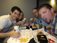 Kebab Crew (DJ Damien) Tags: august2g16 chris stel jo fuse myspace