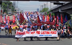 SONA 2016 (Fred Dabu) Tags: sona 2016 stateofthenation duterte philippines quezoncity rally philippine filipino students farmers workers women july batasan state nation address mobilization indigenous youth