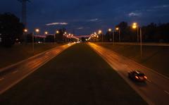 P7290004_v1 (jakubste) Tags: krakow cracow city night traffic