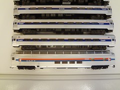 ADIRONDACK AMTRAK (Larry the Lens) Tags: passengert adirondack amtrak amfleet 300 hoscale walthers superdome