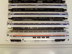 ADIRONDACK AMTRAK (Larry the Lens) Tags: passengert adirondack amtrak amfleet 300 hoscale walthers superdome