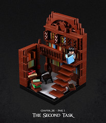 Harry Potter and the Goblet of Fire 19 (Xenomurphy) Tags: lego moc bricks harrypotter gobletoffire rowling muggle magic weasley hermione malfoy voldemort hogwarts hogsmeade slytherin hufflepuff gryffindor ravenclaw quidditch