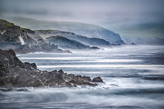 Ring of Kerry (34alex) Tags: nikkor28300 zoomlens langzeitbelichtung coast landscape ringofkerry raw lightroomcc 10stopfilter ireland nikond750 d750 ocean sea bw fx