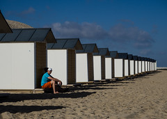 Monotony (Georgie Pauwels) Tags: monotony line repetition candid beach coast sand