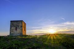 Beacon Sunset 2 (JodBart) Tags: billingehill billinge wigan viewpoint hill sunset sun light