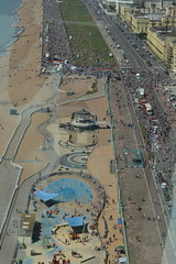 Looking Down (in a Westerly Direction) (CoasterMadMatt) Tags: britishairwaysi3602016 britishairwaysi360 british airways i360 brightontower tower towers observationtower newfor2016 new brighton2016 brighton seasidetowns seaside town towns brightonpride2016 brightonpride pride prideparade parade view views viewpoint britishseaside southeastengland england britain greatbritain gb unitedkingdom uk august2016 summer2016 august summer 2016 coastermadmattphotography coastermadmatt photos photography photographs nikond3200 sussex englandssouthcoast