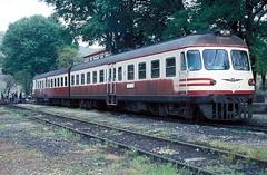 MT55 ....  Karakuyo  13.05.82 (w. + h. brutzer) Tags: analog train turkey nikon railway zug trains trkei vt lokomotive eisenbahnen tcdd dieseltriebzug mt55 webru karakuyo