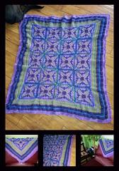 Heidi Reibling (The Crochet Crowd) Tags: crochet mikey cal divadan crochetalong yarnspirations cathycunningham thecrochetcrowd michaelsellick danielzondervan freeafghanpattern mysteryafghancrochetalong freeafghanvideo caronsimplysoftyarn