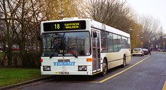 Viceroy V384NOA Haverhill February 2001 (The original SimonB) Tags: 2001 film buses transport scanned february haverhill