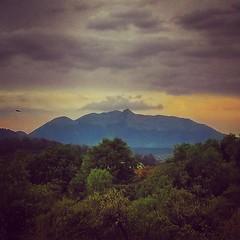 El orgulloso Ajusco desde la Reserva Ecolgica del Pedregal de San Angel :) (Greitas) Tags: square squareformat amaro iphoneography instagramapp uploaded:by=instagram