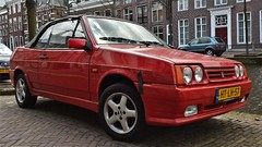 Lada Samara 1.5 Cabriolet (sjoerd.wijsman) Tags: auto red holland rot cars netherlands car rouge nederland thenetherlands convertible delft voiture vehicle holanda autos rood cabrio paysbas lada olanda samara fahrzeug niederlande cabriolet zuidholland onk carspotting redcars carspot ladasamara htlh57 sidecode5 04042015