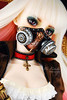 ~ Sophia ~ <3 (1000 No Kotoba) Tags: pink white hot sexy rose skulls cool shoes aqua doll mask gas pirate bjd dollfie 13 limited fairyland sophia busty celine steampunk gunblade steamage fullset feeple dollfairyland feeple60