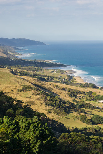 View from Marriners Lookout, Apollo Bay