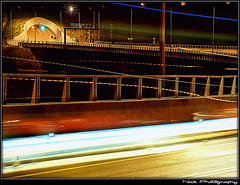 ... - Light trails everywhere... (Nick Papakonstantinou) Tags: road nightphotography red white trafficlights car night traffic sony tunnel headlights greece lighttrails f828 hdr sonydscf828 backlights roadlights volos sonyf828 thessaly hdrphotography longexposurephotography magnesia goritsahill