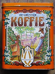 Coffee Tin (streamer020nl) Tags: holland coffee caf tin beans box nederland kaffee nl blik kava koffie plantage blikje koffiebonen gruyter degruyters koffiepluk