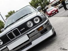 BMW M3 E30/2S (GonzaloFG) Tags: detail slr ford chevrolet car sport skyline honda spain italia nissan evolution ferrari camaro mclaren enzo bmw gto jaguar mustang m3 ducati audi lamborghini rs m6 m5 challenge m4 avant v8 rs2 spotting s2000 e30 nsx gallardo amg drifting rs4 typer gtr trackday murcielago etype quattro gt40 f40 r8 f12 rs6 v12 f50 cosworth nismo e46 r34 e36 berlinetta superleggera 458 899 m3csl desmosedici panigale ftype 275gtb rs3 e92 worldcars circuitodeljarama stralade m235i