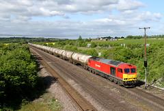 60020 6E46 Melton ross 16.05.2015 (Dan-Piercy) Tags: tank lindsey tug empties kingsbury dbs class60 60020 meltonross 6e46