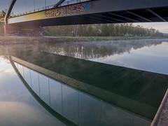 Kanal am Morgen