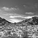 Peaks of the Chisos Mountains (Black & White)