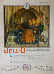 Jell-O (Light Collector) Tags: vintage magazine paper advertising dessert artist antique april illustrator jello 1925 odc gelatin pictorialreview marionpowers