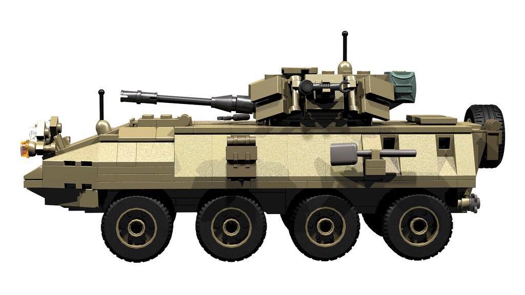 Amazon.com: Marine LAV-25 Set made w/ real LEGO bricks - Battle ...