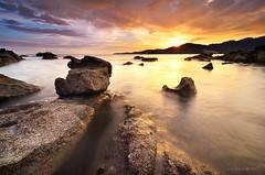 Last Light (nadzli.azlan7) Tags: sunset sea art nature landscape asian landscapes scenery asia seascapes artistic dusk sunsets malaysia penang dri scapes naturelovers artofnature artofseeing nikond7000
