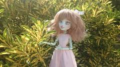 Let's go outside! (Kulukala Art) Tags: monster high doll kawaii custom mattel repaint kulukala kulukalaart
