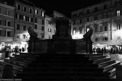 Piazza di Santa Maria in Trastevere (Francesco | Ceron) Tags: roma flickr vacanze fotofrancescoceron