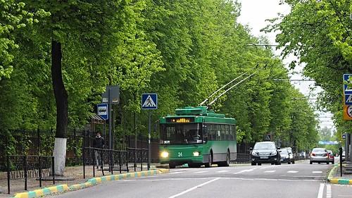 Vidnoye trolleybus ТролЗа-5275.07 #24