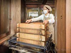 letting off steam (DigitalLyte) Tags: japan tokyo steam buns asakusa steamer anko redbeans nishiyama adzuki