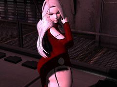Gynoid Companion: Number 14 (Alsatia Kiryuin aka Allie-Gator) Tags: anime booty secondlife scifi bae rp android cyberpunk assassin gynoid roleplay thickthighs waifu