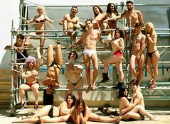 Desnudo grupal por el fotgrafo David Cajete (TrishAngeliquePhotography) Tags: girls boy portrait woman men nude exterior body retrato interior seminude ropa desnudo semidesnudo