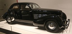 1936 Cord 810 Beverly (Bill Jacomet) Tags: black museum 1936 cord texas steel tx fine arts houston beverly 36 sculpted mfah in 2016 of