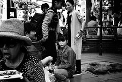 (Jiajun Yang) Tags: street people bw blackwhite eyes streetphotography monochrone