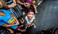 Happy Girl (Nafiul Hasan Nasim) Tags: street color girl smile canon nasim nafiulhasannasim