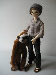 Plain Day 001 (EmpathicMonkey) Tags: toby ball toys happy monkey photo dolls olive story bjd jointed bluefairy