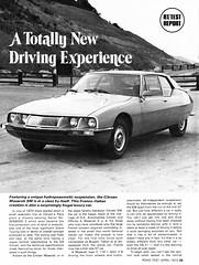 1972 Citroen SM (aldenjewell) Tags: road test magazine citroen sm article 1972 maserati