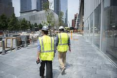 4 WTC Ground July 2013 (Tony Shi, Life) Tags: nyc newyorkcity ny newyork manhattan worldtradecenter wtc lowermanhattan worldtradecenters downtownmanhattan 4wtc