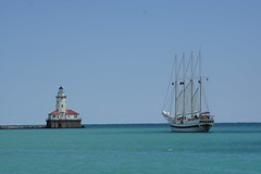 DSC01454 (jon_newberry) Tags: light house lake pier michigan navy sail