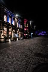 Royal Mile near Edinburgh Castle at night (haywardk49) Tags: uk england people raw nef yorkshire wideangle northumberland d750 jpg fullframe scotish stotland