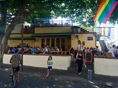 Susannah Cafe (Assaf Shtilman) Tags: people restaurant march cafe tel aviv pride parade lgbt suzannah