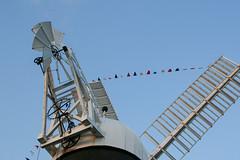 Holgate Windmill decorated, June 2016 - 1